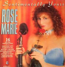 "Rose Marie  Sentimentally Yours 16 Tracks  12"" LP 33rpm  STAR2302  Telstar Label"