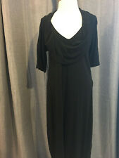 ESCADA black dress Ladies 40 (M). E136