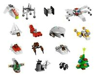 LEGO Star Wars 15 x Mini Sets & building instructions from 2011 Advent Calendar