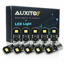 10X AUXITO T10 194 168 W5W 2825 LED 6000k Side Wedge License Dome Light Bulbs K