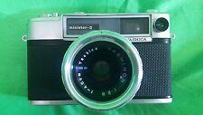 Yashica Minister-D Camera w/ Case & Yashica 1:2.8 Lens Vintage