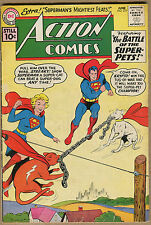 Action Comics #277 - Superman Super-Girl Kyrpto Vs Streaky - 1961 (Grade 4.0) WH