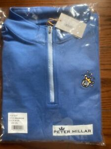 Brand New Scotty Cameron Peter Millar Blue Jackpot Johnny 1/4 Zip Pullover - XXL