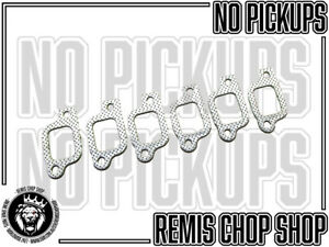 Exhaust Manifold Gasket Set For Mazda Ford ZB Trader NOS Parts - Remis Chop Shop