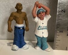 Hey Homies, Rare 2 Locsters figures - the artist is Abel
