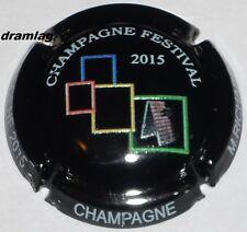 Capsule de Champagne: New !!! RICHARD M. Festival  BREDENE 2015, n°27a en relief