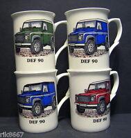 1 LAND ROVER DEFENDER 90 Automotive Fine Bone China Mug Cup