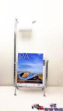 Multi Function Metal Toilet Roll Holder with Magazines Holder Rack JB1031