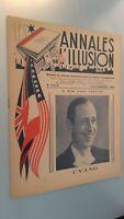 Rivista I Annali Di L Illusione per Lettera N° 8&9 Agosto-Settembre 1945