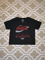 STRANGER THINGS Coca Cola WOMENS Small T Shirt OFFICIAL w INVOICE New Coke SDCC