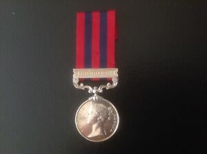 Pre WWI Victorian 1854 India General Service Medal to
