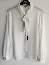 Marks and Spencer Polyester Collared Hip Length Women's Tops & Shirts