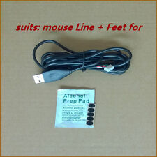 Logitech MX518 MX510 MX500 Mice Repair kits: mouse cable/Line&Mouse Feet/Skate