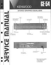 KENWOOD original service manual pour ge-54