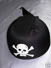 Brand New Black Pirate Hat Fancy Dress Stag Party