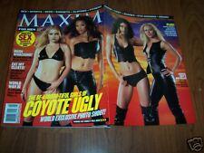 COYOTE UGLY -Vintage Maxim Magazine-Mint- 2000