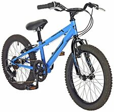 Piranha 18 Inch Wheels Steel Frame V-Brakes Edge 6 Speed Mountain Bike
