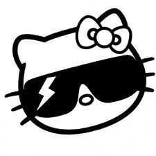 Hello Kitty Gaga // sticker JDM Autocollant Vitre Frontale