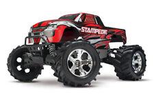Traxxas Stampede 4x4 Rot RTR Brushed RC Monster Truck 12V Lader Akku 67054-1