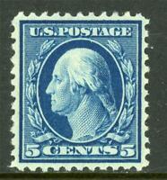 USA 1917 Washington 5¢ Unwmk Perf 11 Scott # 504 Mint Disturbed OG NH Z528