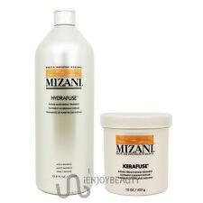 Mizani Hydrafuse Treatment & Kerafuse Intense Treatment w/FreeRollOnBodyOil