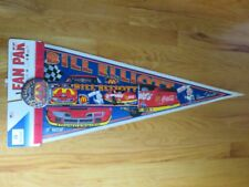 "BILL ELLIOTT No. 94 McDONALD's Racing Team 30"" Pennant w/ Button & Decal SNAP-ON"