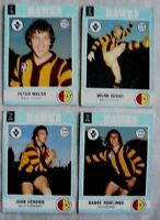 Hawthorn Hawks 1977 Scanlens Footy Cards John Hendrie VFL AFL Football lot pack