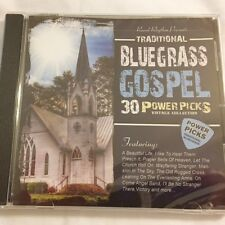 Brand New CD ~ 30 Traditional Bluegrass Gospel ~ Various Artist ~Great Gift ~NEW