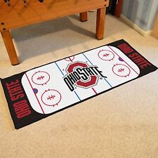 "Ohio State Buckeyes 30"" X 72"" Hockey Rink Runner Area Rug Floor Mat"