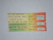 "The Moody Blues Concert Ticket Stub-1981-Long Distance Voyager-""The Voice""-PA"