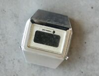 TRAFALGAR T BRITISH MADE T vintage digital LCD quartz watch head SPARES