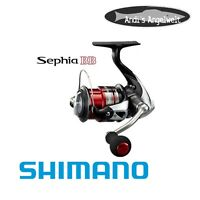 Shimano Sephia BB C3000S - Spinnrolle - Meeresrolle - Salzwasserfeste Rolle