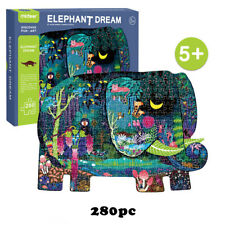 280 Piece Jigsaw Puzzles Elephant Picture Animal Wall Painting Adults Kids Toy