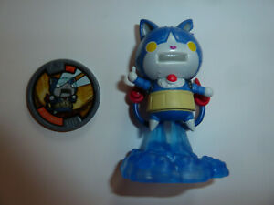Yo-Kai Watch Robonyan robot cat weird anime action figure toy w/ medal kawaii!