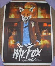 FANTASTIC MR FOX Wes Anderson movie poster print Joshua Budich sn/100