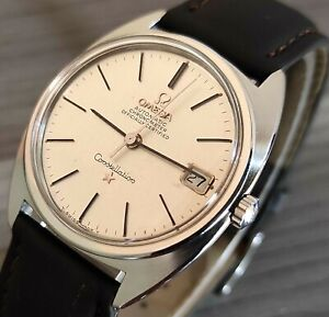 1960's VINTAGE OMEGA CONSTELLATION  24J, AUTOMATIC MENS WATCH 564/ST168.017
