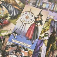 Tarot De La Sorcière De Tous Les Jours Par Deborah Blake (Anglais) 78pcs/set