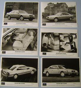 Rover 800 Coupe x 6 Original Press Photographs various interior & exterior 1992