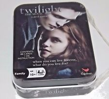 Twilight The Movie Card Game Tin Box _NWOT SEALED TIN_TWILIGHT THE MOVIE 2009
