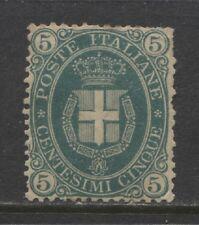 1889 Italy  5 c. Arms of Savoy mint*, Scott # 52 , cat.: $ 875.00
