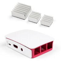 Official Caso + Aluminum Disipador Enfriador Kit Para Raspberry Pi 3 Model B ES