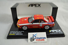 1:43 Nissan Skyline GTR R32 #2 Mark Skaife 1992 ATCC WINNER Apex model
