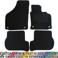 For Volkswagen VW Golf MK5 2004-2007 Fully Tailored 4 Piece Car Mat Set 4 Clips