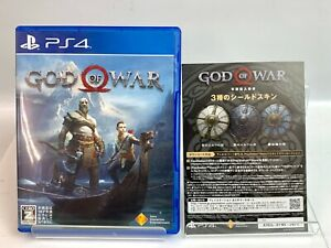 Sony PlayStation 4 GOD OF WAR PS4  Action & Adventure Game Japan Post