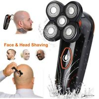 US 5 Heads Shaver For Bald Men 5-in-1 Floating Electric Razor Hair Trimmer Kits
