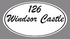 Wheelie Bin House Number & Name Decal / Sticker X 2