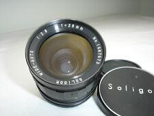 SOLIGOR  28mm F 2.8 Lens for NIKON mount cameras ( non AI ) sn1687673