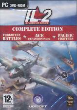 IL2 COMPLETE ED. IL-2 Sturmovik Series PC Flight Game N