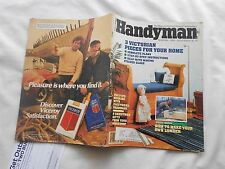 THE FAMILY HANDYMAN Magazine-NOVEMBER,1983-3 VICTORIAN PIECES FOR YOUR HOME