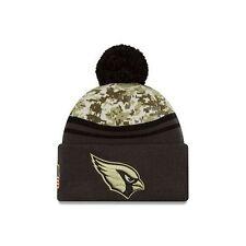 Arizona Cardinals NFL Salute to Service Winter Camo Beanie Cap - Adult Hat OSFM